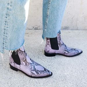 FRĒDA SALVADOR Joan boot in lilac